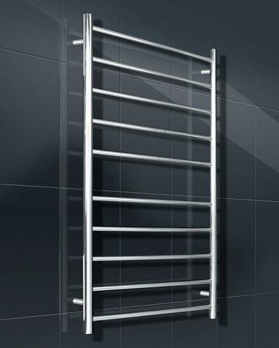 Heated towel rail 125w round bar