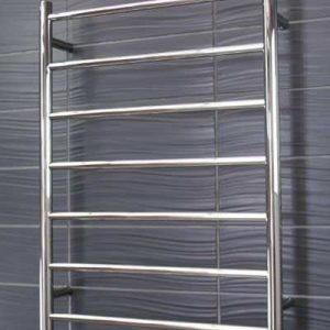 round heated towel rail 7 bar RTR01