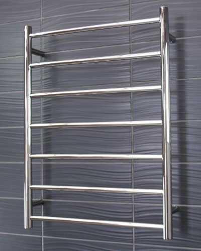 round heated towel rail 7 bar RTR01