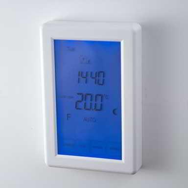 under floor heating thermostat vertical