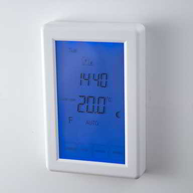 under floor heating thermostat vertical