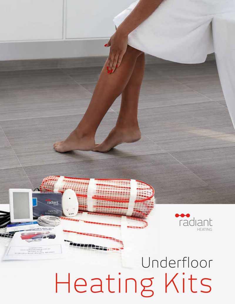 diy floor heating kit