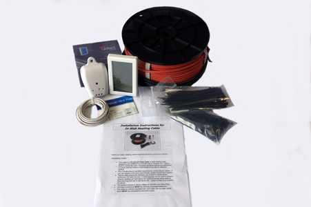 under floor heating in-slab cable kit