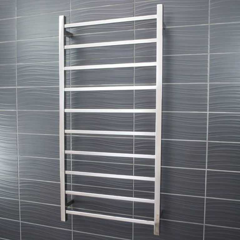 heated towel rail square 10 bar STR02