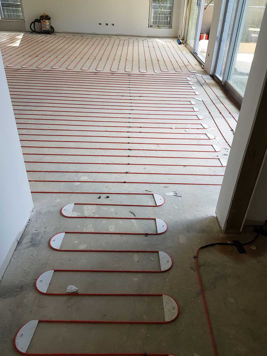 benefits of underfloor electric heating
