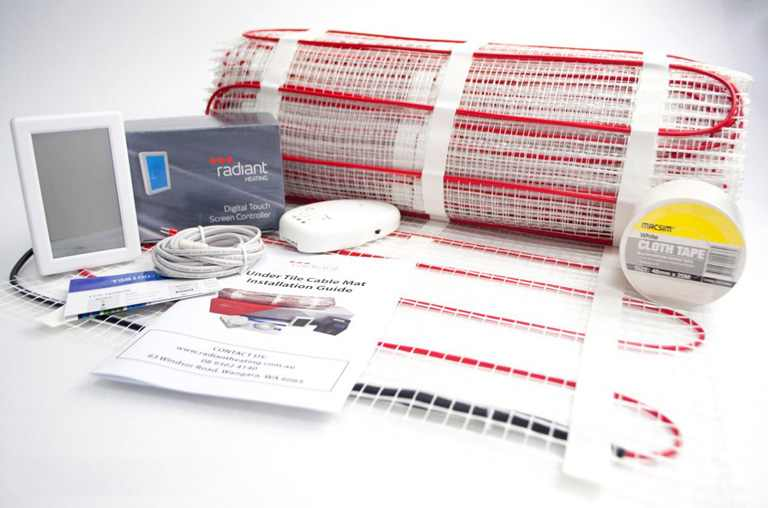 under tile DIY floor heating kit