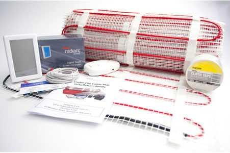 diy under tile electric floor heating kit